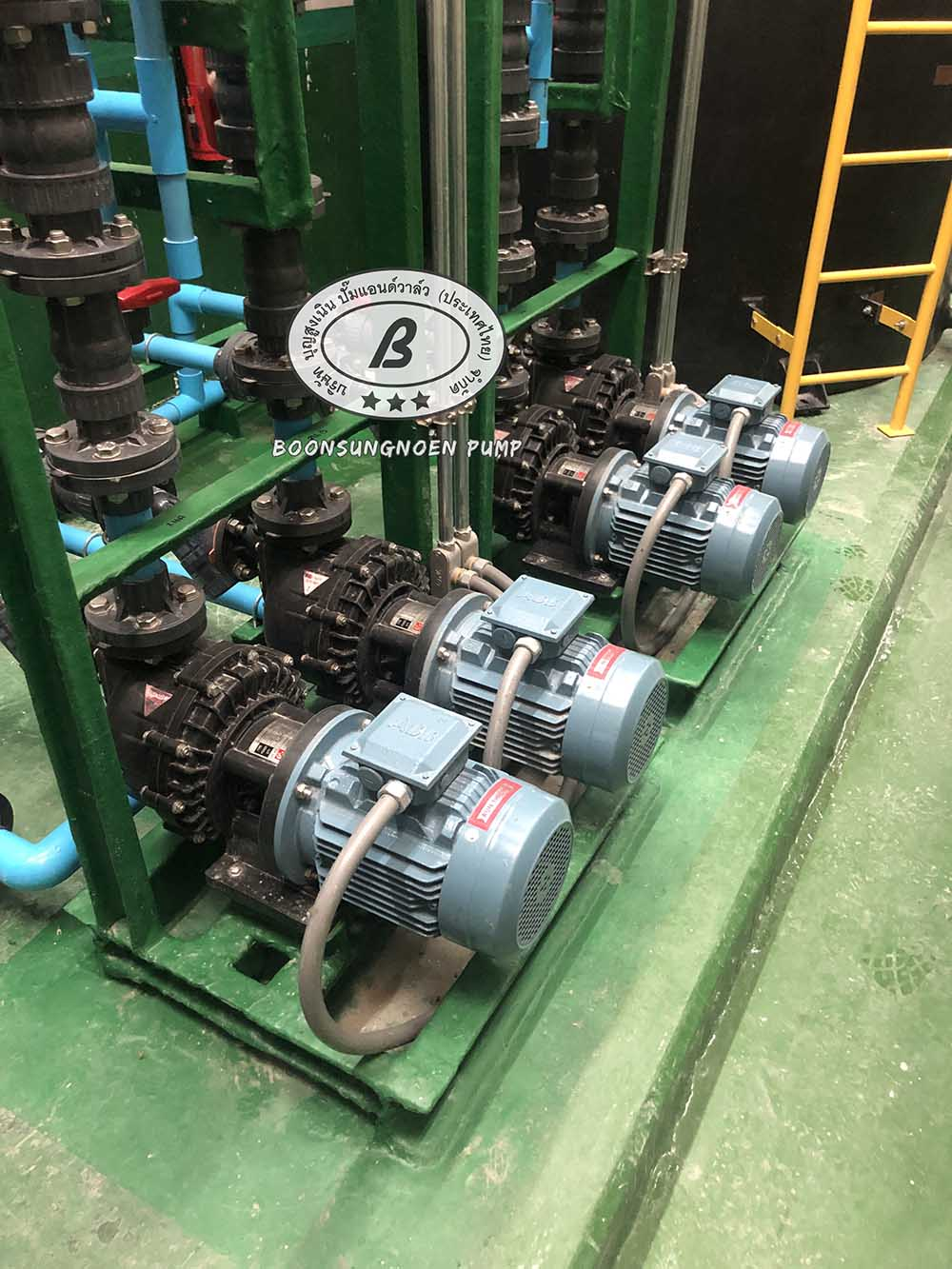 self-priming chemical pump